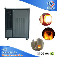 waste burning incinerator machine