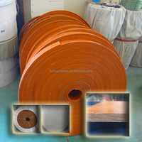 Flat Transmission Belt rubber flat transmission belt endless flat belt made in cn