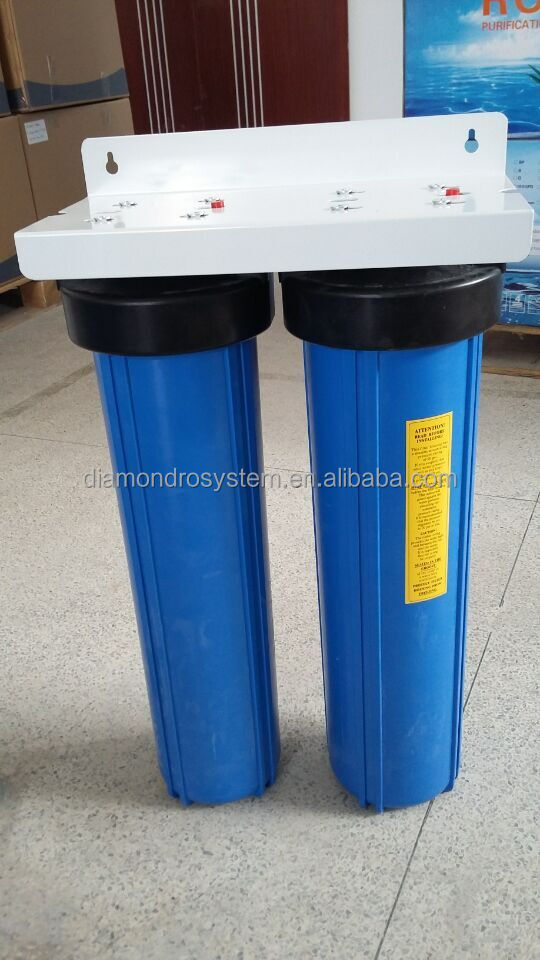 Underground 20inch BB blue housing for 2 stage water filter
