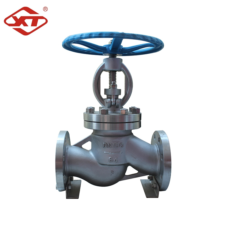 Customized DIN CF8 Stainless Steel Globe Valve