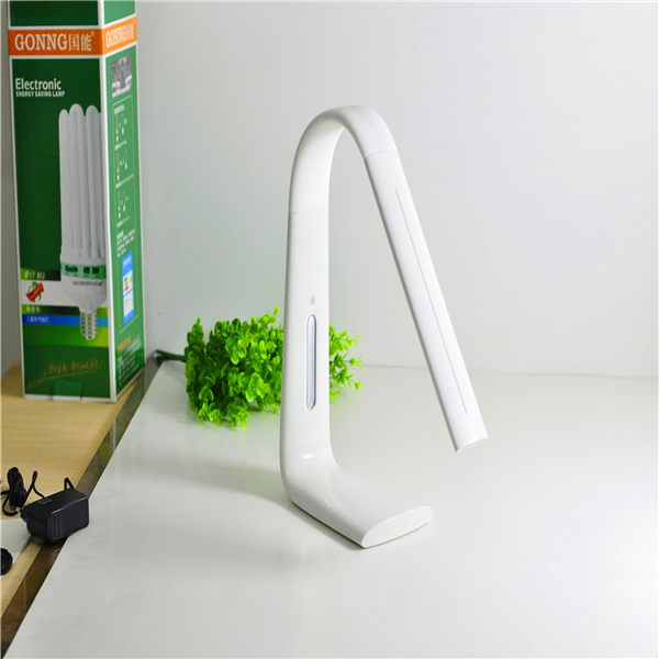 3-Levels Brightness Touch Switch Rechargeable LED Desk Table Lamp Reading Light