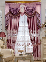 Hot sell polyester curtain/indian style curtains/polyester fabric for curtain
