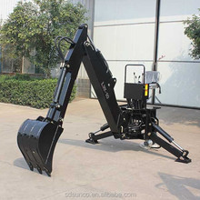 tractor implement backhoe excavator for tractor, atv and skid steer loader backhoe