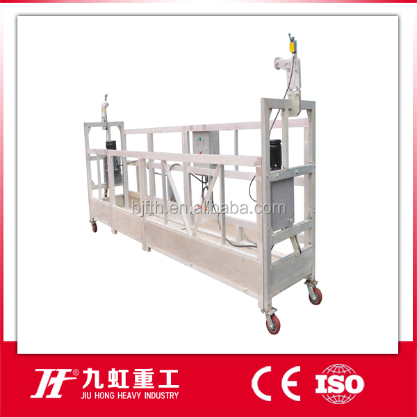 Factory Roof Window Cleaning BMU Gondola ZLP630/Glass cleaning lifting platform