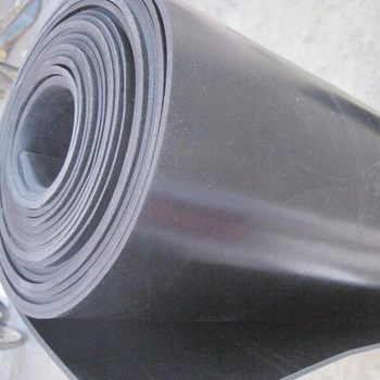 1- 2m black top selling Hypalon rubber sheet