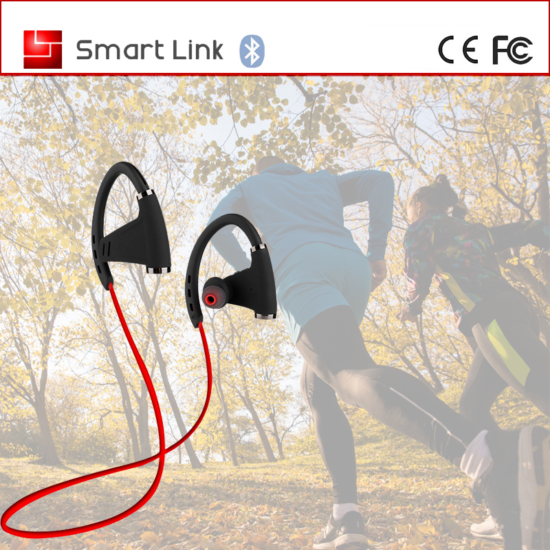 Cheap wireless sport stereo bluetooth headset NFC earhook bluetooth headphone