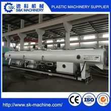 automatic pipe fabrication production line/PVC drain pipe machine/plastic pipe making machine