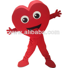 Custom Made Heart Valentine's Day Mascot Costume