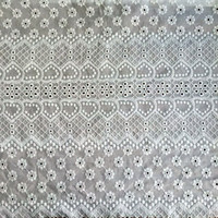100 cotton lace fabric sweet heart design fabric for women's garment