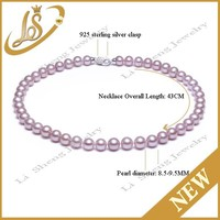 Fashion pearl necklace wholesale freshwater pearl