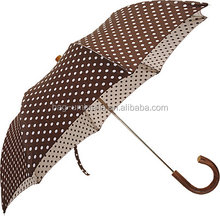 Barneys New York Polka-Dot Low Price Umbrella Fabric Folding Umbrella