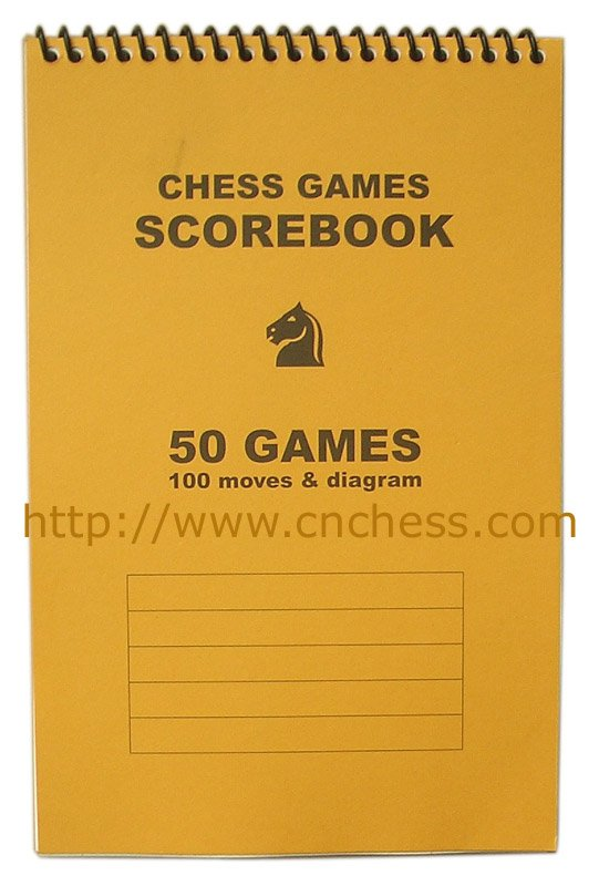 Chess Scoresheet  Buy Chess ScorebookChessChess Set Product On