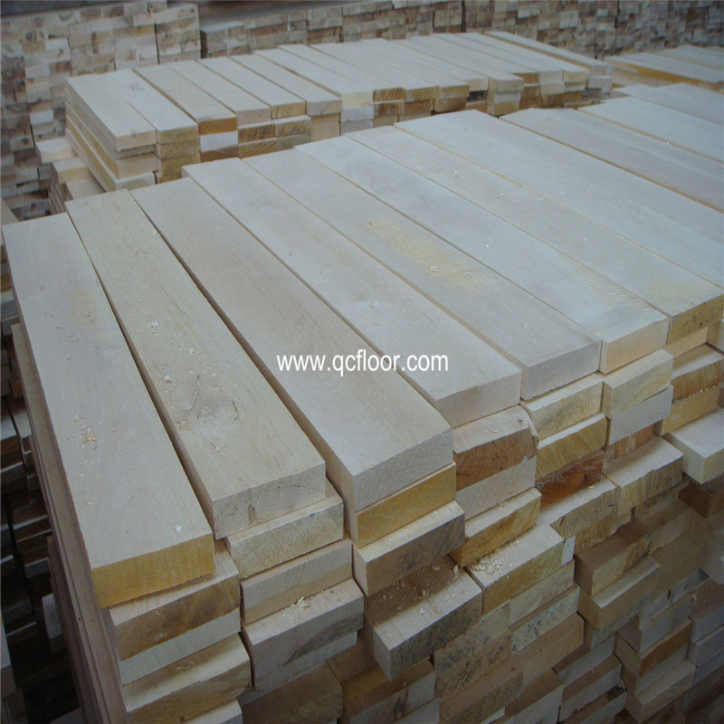 Maple Hardwood Basketball Courts Indoor Athletic wood Flooring