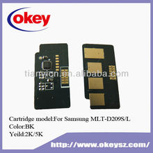 for Samsung MLT-D209 toner chip SCX-4824/4828/ML-2855/2853D/3475ND/5835FN