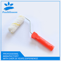 "2015 Hot Sale 4"" Mini Small Paint Roller With Plastic Handle Paint Roller Brush"