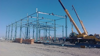 Light steel structure for workshop warehouse steel frame space frame steel structure