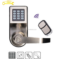 high-tech silver color digital remote door lock in competitive price