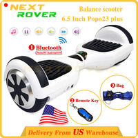 Shipping from USA Warehouse 6.5 inch Two Wheel balance electric scooter with High Capacity Battery