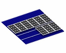 High Quality Rooftop Solar Panel Mounting Structure