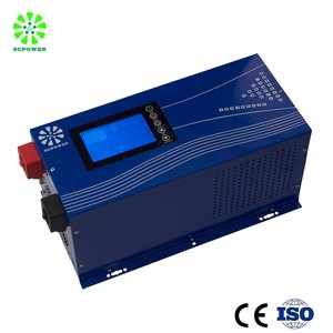 Competitive Price 3000 4000 Watt On Grid Solar power Inverter with Solar Charger controller