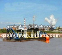 Floating cutter suction dredge