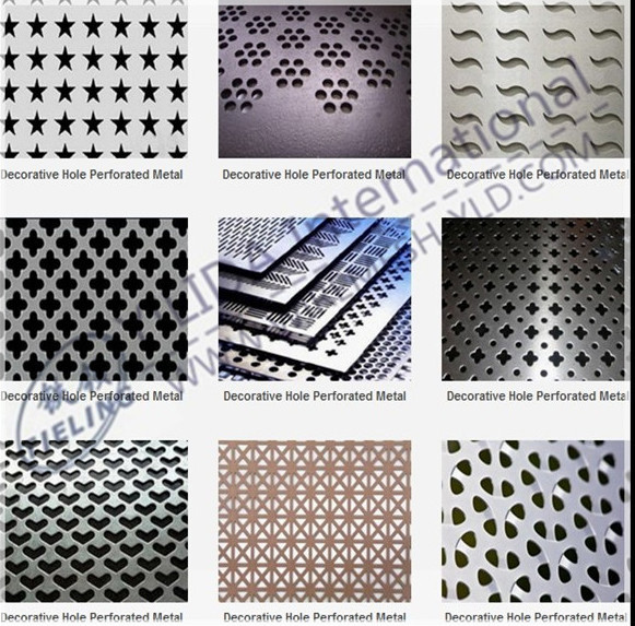 aluminium perforated sheet decorative pvc panels price(factory 9001)