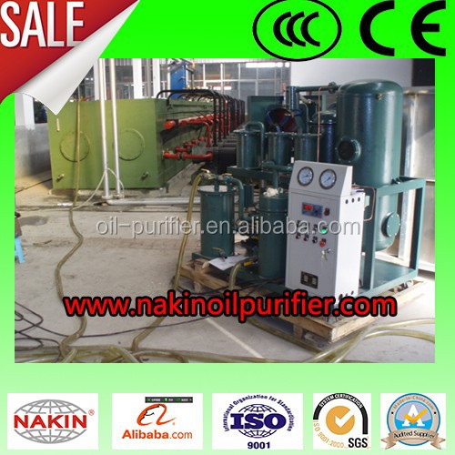 vacuum lube oil purifier is suitable for purifying various old lube oil in petroleum, chemical, mining, metallurgy and so on