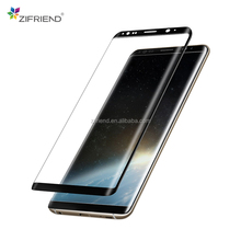 High Quality tempered glass screen protector sheet price for mobile phone Samsung s8
