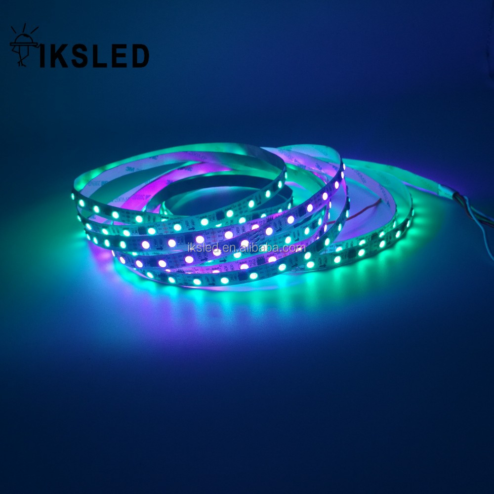 5M Digital Addressable RGB <strong>LED</strong> Pixel WS2811 non-waterproof <strong>LED</strong> Flexible Light Strips 30 <strong>LEDs</strong>
