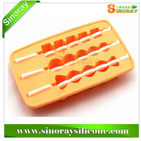 Silicone ice stick mold