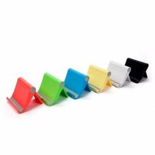 Universal promotional plastic tablet mobile phone stand