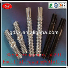 High quality stainless steel/carbon steel double end threaded stud,threaded studs,threaded studs pins in Dongguan