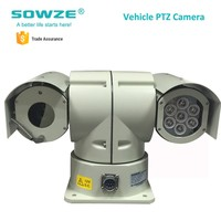 20x Optical Zoom Infrared Outdoor Waterproof IP66 Intelligent PTZ Police Car Roof Camera