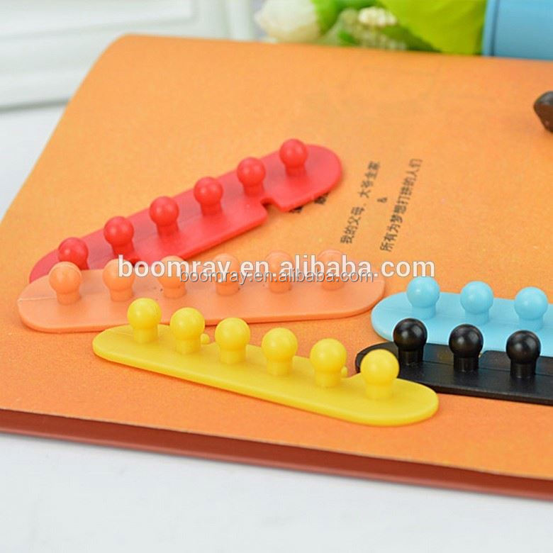 Ningbo Wholesale Under 1 dollar cable clips Plastic adhesive tape cable management system computer accessories dubai