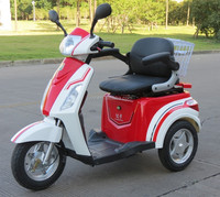 2015 most popular sales 3 wheel electric scooter 500W 48V20AH