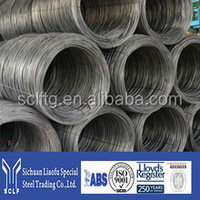 hot rolled cold drawn alloy Spring steel wire for railway sleeper