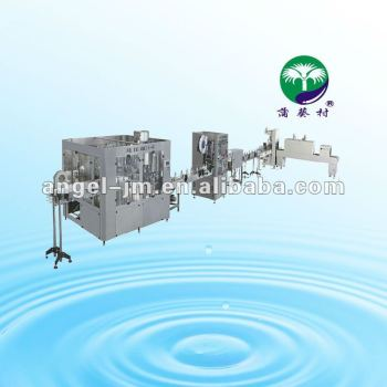 bottled mineral pure water production line/rinser filler capper