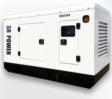 60HZ three phase 25kva 20kw sound proof low rpm price diesel power self running dynamo generator