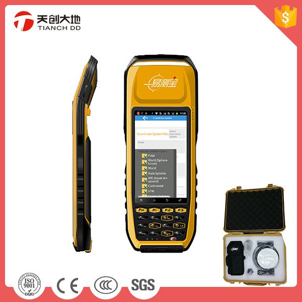 Fully Rugged IP67 Industry Grade Android OS Dual Frequency RTK GPS