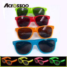 Neon Color Fashionable Ray Band Sunglasses 2018 for Women men