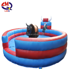 Entertainment park bull fight adult play games of desire