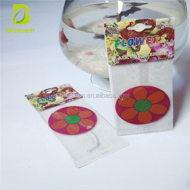 Good for promotional gifts paper fragrance air freshener/hanging car air freshener car air fresherner