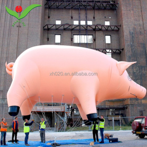 Balloon Type Giant Inflatable Helium Balloon advertising pink inflatable flying Pig