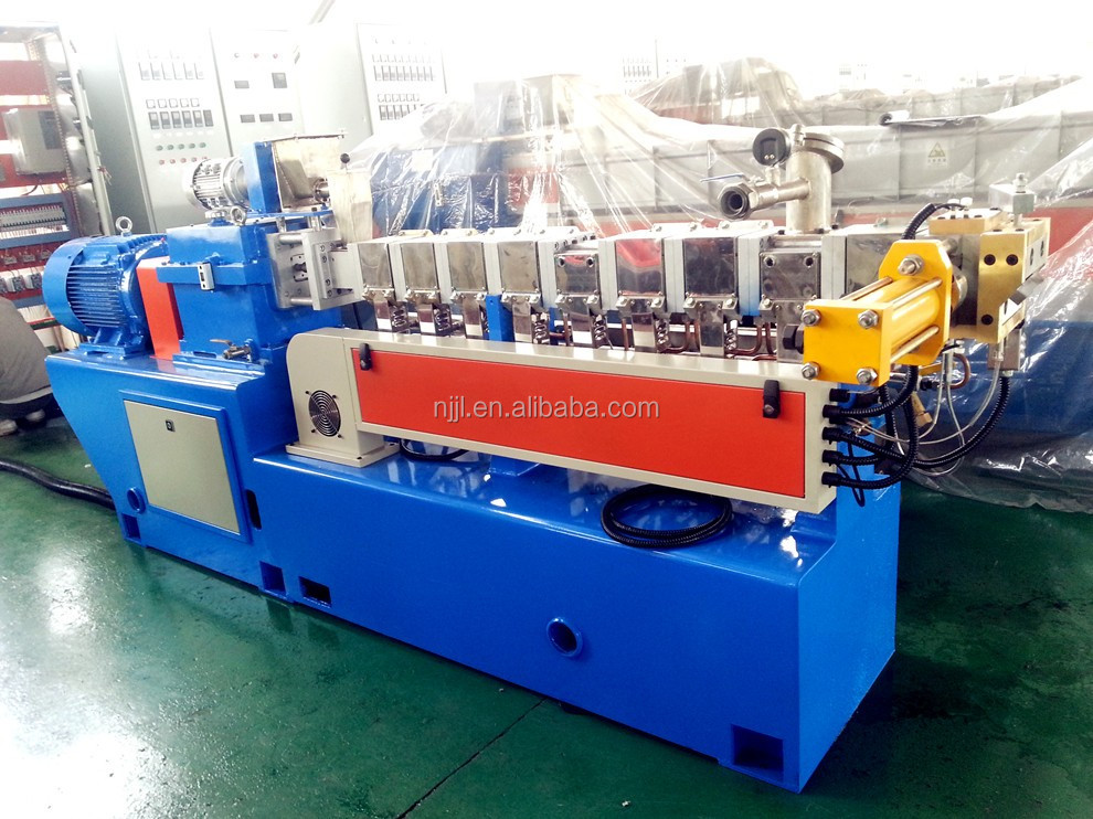 Lab Extruder /SHJ35 Twin Screw Extruder for PP/PE/PS/ABS/PC/PET granule making