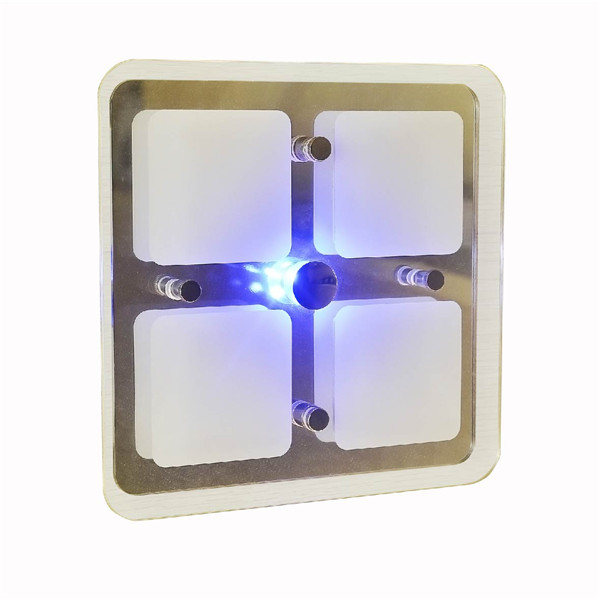 LED Surface mounting led Interior Ceiling Dome Light RV vehicle use led square interior light 12V