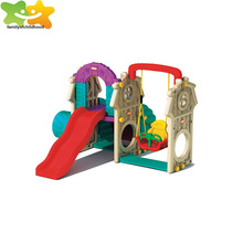 Guangzhou Hot sale outdoor playground outdoor plastic baby swing slide for sale