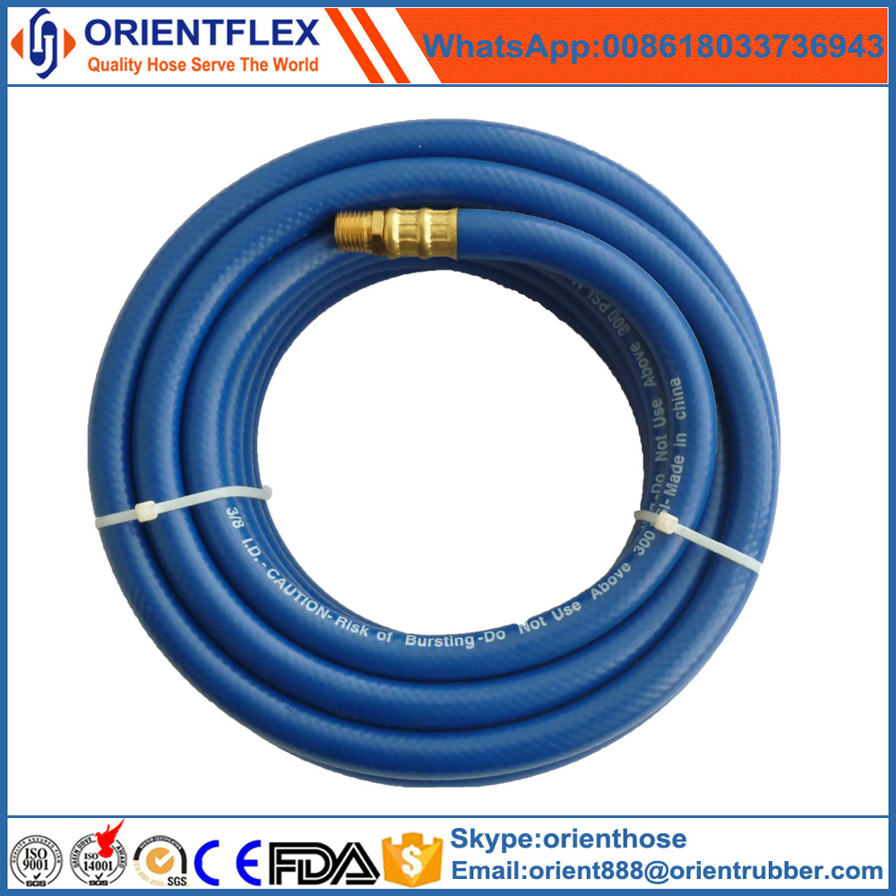 High pressure colorful flexible air intake hose