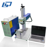 chinese supplier cnc full enclosed mini fiber laser marking machine for sale