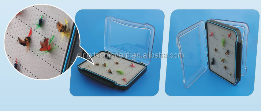 HG001B Fishing products hard plastic fly clear hard plastic boxes