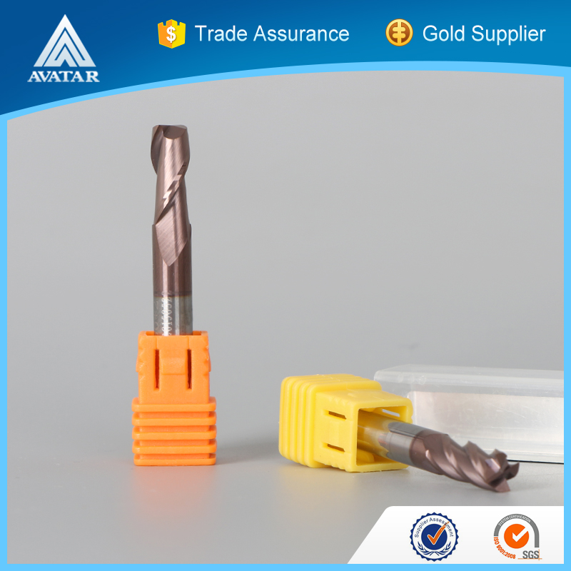 solid carbide end mill cutters tools used for mechanical workshop